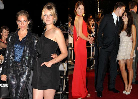Photos of Sienna Miller, Channing Tatum, Jenna Dewan, Savannah Miller and Rachel Nichols at The Tokyo Premiere of GI Joe