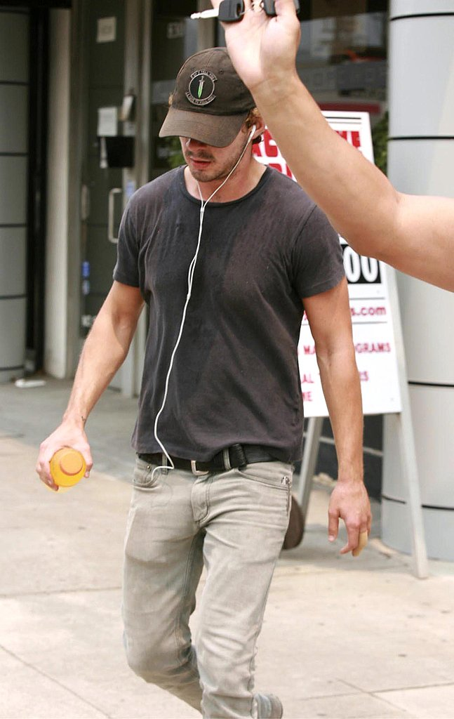 Photos of Shia Leaving the Gym