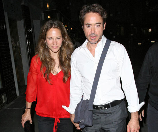 Photo Slide of Robert Downey Jr And Susan Downey Out in London