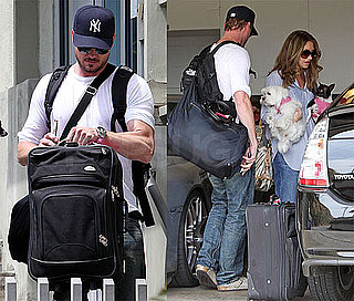 Photos of Eric Dane and Rebecca Gayheart In LA After Their Naked Tape Surfaced