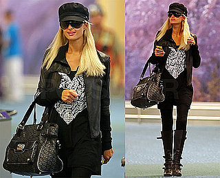 Photos of Paris Hilton in Vancouver to Appear on the Supernatural