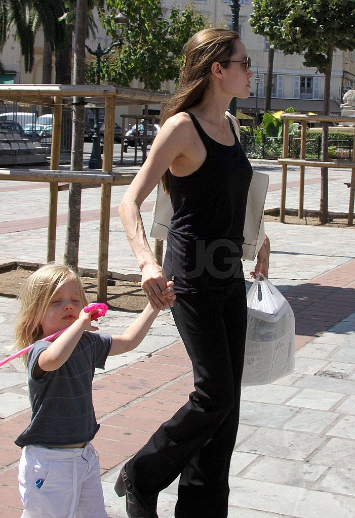 Photos of Angelina and Shiloh