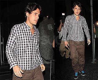 Photos of John Mayer Leaving LA's Katsuya; Battle Studies Coming Out on Nov. 17