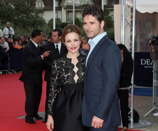 Slide Photo of Rachel McAdams and Eric Bana in France