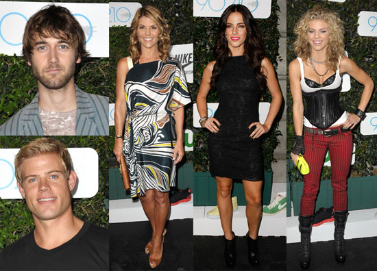 Photos of Lori Loughlin, AnnaLynne McCord, Jessica Lowndes, Ryan Eggold, and Trevor Donovan at a 90210 Party 2009-09-02 16:00:00