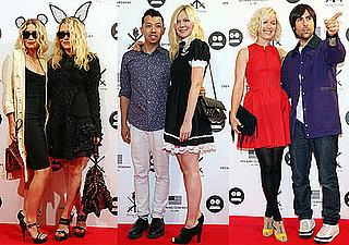 Photos of Mary-Kate Olsen, Ashley Olsen, Kirsten Dunst, Jason Schwartzman and Brady Cunningham at Opening Ceremony in Tokyo