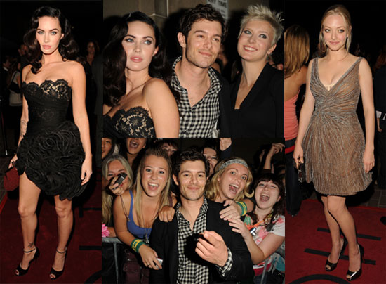 Photos of Megan Fox and Adam Brody at Premiere