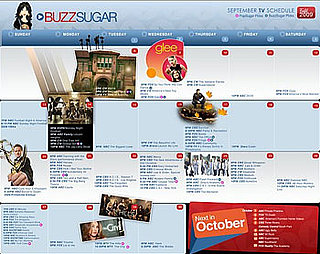 Sugar Shout Out: Buzz's Fall TV Calendar Is Back!