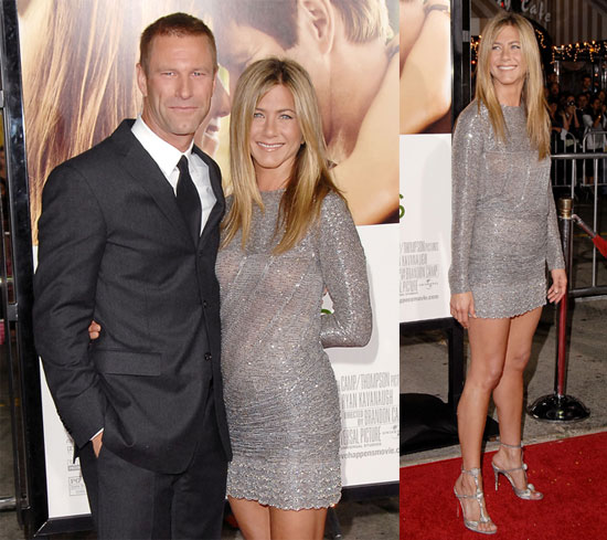 Photos of Jennifer Aniston and Aaron Eckhart At the LA Premiere of Love Happens