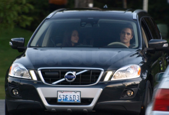 Robert and Kristen on Eclipse Set