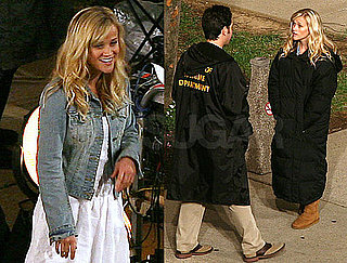 PHotos of Reese Witherspoon and Paul Rudd on the Set of How