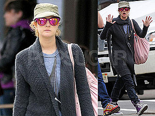 Photos of Drew Barrymore in Soho NYC