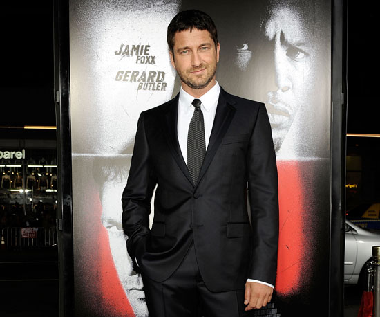 Slide Photo of Gerard Butler At Law Abiding Citizen Premiere