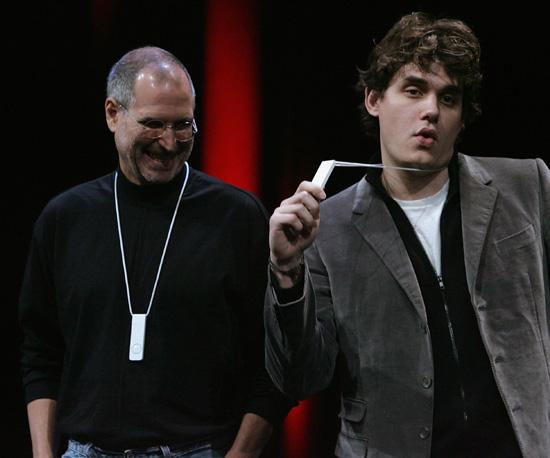 Steve and John