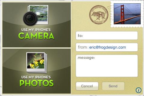 Postcard Express iPhone App Sends Digital Postcards