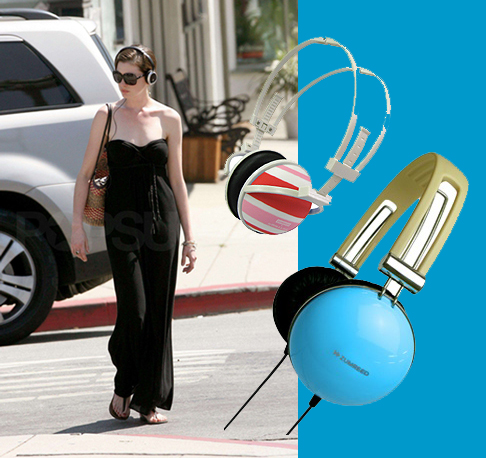 Attractive, Chic, Over the Ear Headphones