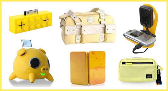 Geeksugar's Picks for Yellow Gadgets and Gizmos