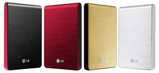 Daily Tech: LG Debuts Its XD3 Slim Portable Hard Drive