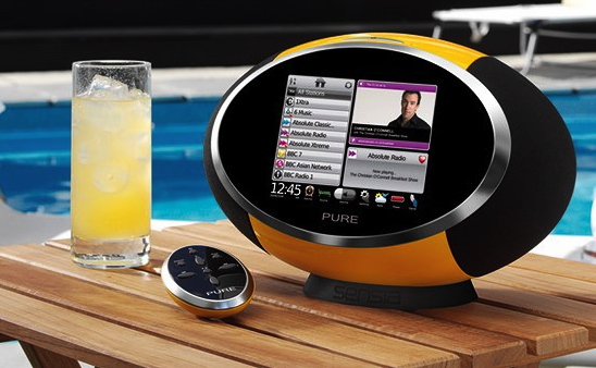 Daily Tech: The Pure Sensia Touchscreen Radio With WiFi