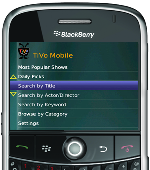 Daily Tech: BlackBerry Announces a TiVo App