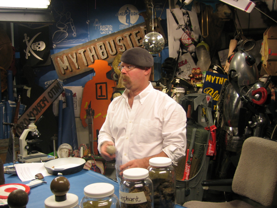 GeekSugar Interviews Adam Savage and Jamie Hyneman From MythBusters