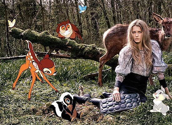 Stella McCartney's Fall 2009 Ad Campaign Features Bambi