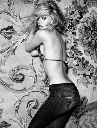 Hudson Jeans + Georgia May Jagger = Roar!