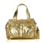 Trend Alert: Gold Handbags