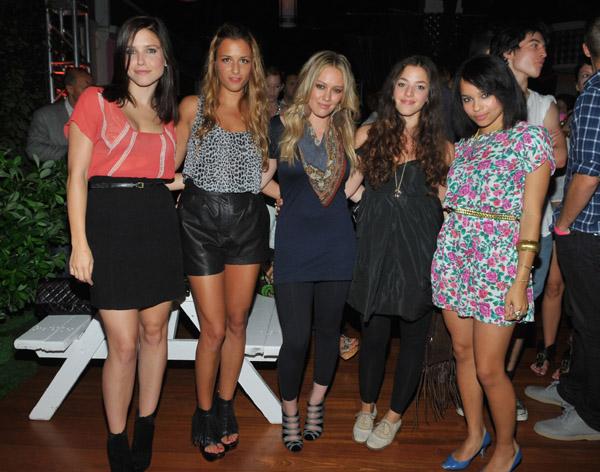 Sophia Bush, Charlotte Ronson, Hilary Duff, Olivia Thirlby, Zoe Kravitz