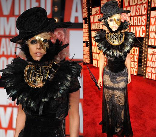 Lady Gaga at the MTV Video Music Awards
