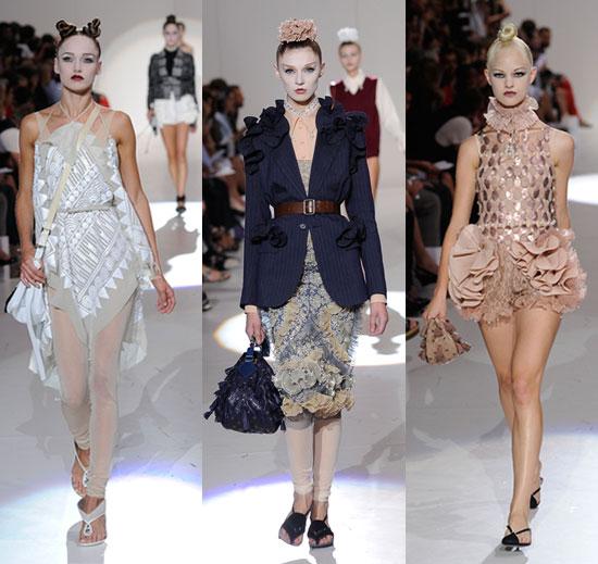 Photos of Marc Jacob's 2010 Spring New York Fashion Week Show 2009-09-14 20:04:41