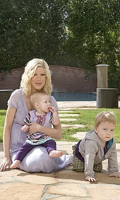 Photos of Tori Spelling's Kids Clothes