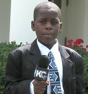 Politikid Damon Weaver Interviews Obama at the White House
