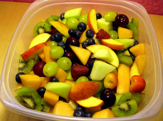 Back on Track: Big Bowl of Fruit Salad
