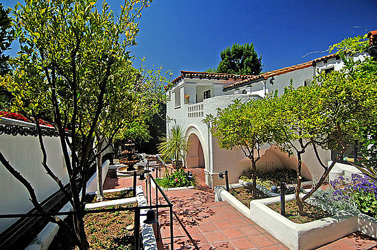 Charlie Sheen Lists His Lovely Los Feliz Pad