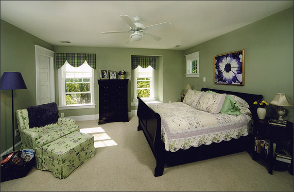 After:  Bedroom (Formerly Attic)