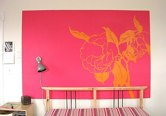 Cool Idea: A Cut Paper-Inspired Wall Mural