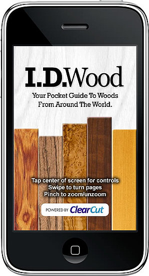 Identify Woods With a New iPhone App