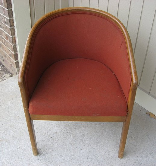 Before and After: A Goodwill Chair
