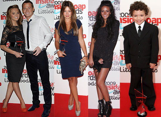 Photos of Arrivals and Winners at the Inside Soap Awards including Kara Tointon, Joe Swash, Charlie Brooks, Lacey Turner