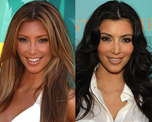 Do You Prefer Kim as a Blonde or Brunette?