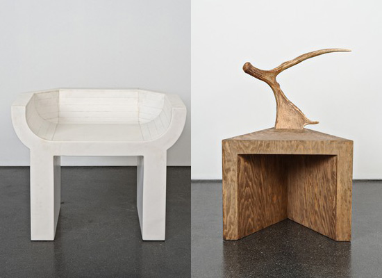 Rick Owens Furniture Exhibition in London