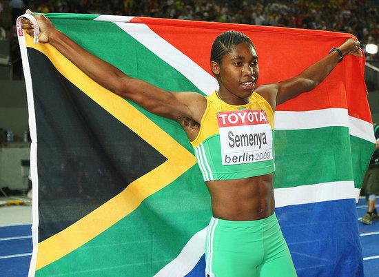 Champion Runner Caster Semenya Asked to Prove Her Sex