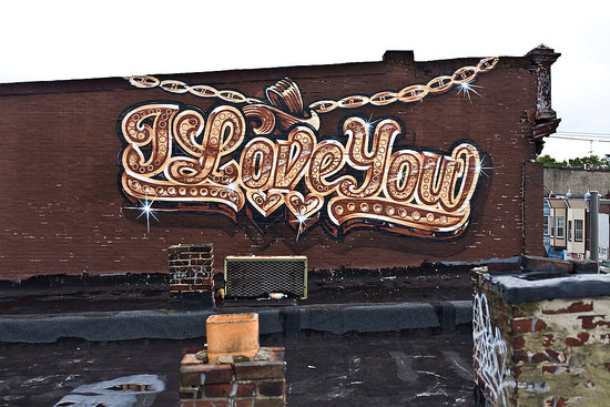 Philadelphia's Love Letter Project Encompasses 40 Urban Murals