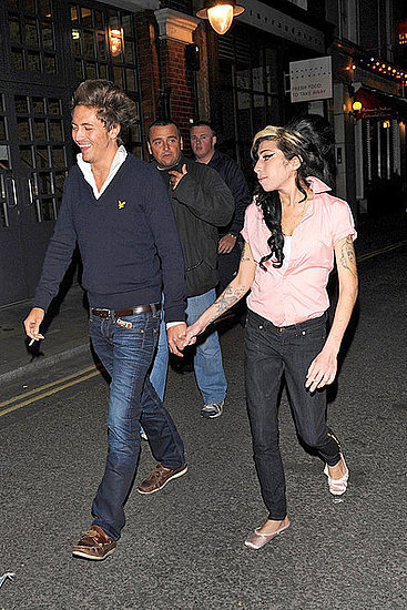 Amy Winehouse and Tyler James at Jazz club