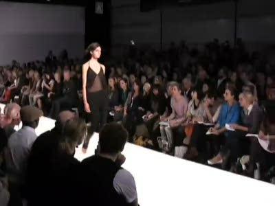 London Fashion Week: Aminaka Wilmont Spring 2009