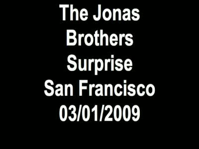 Jonas Brothers hit San Francisco