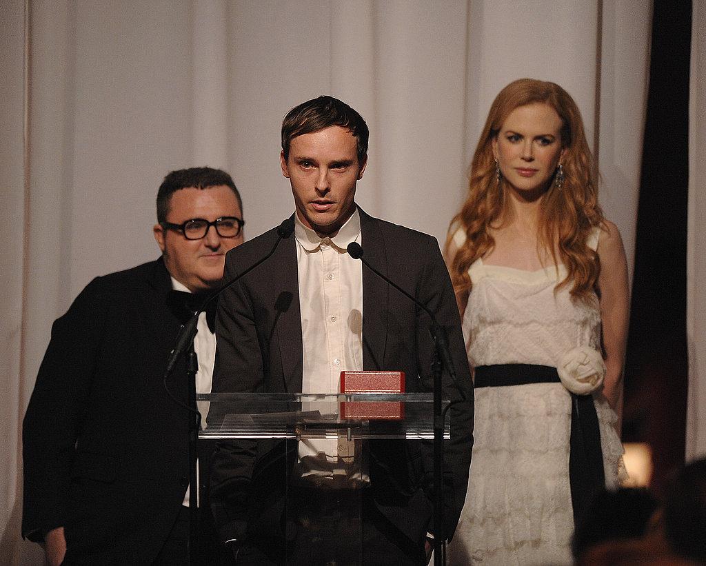 Alber Elbaz, Patrik Ervell, Nicole Kidman