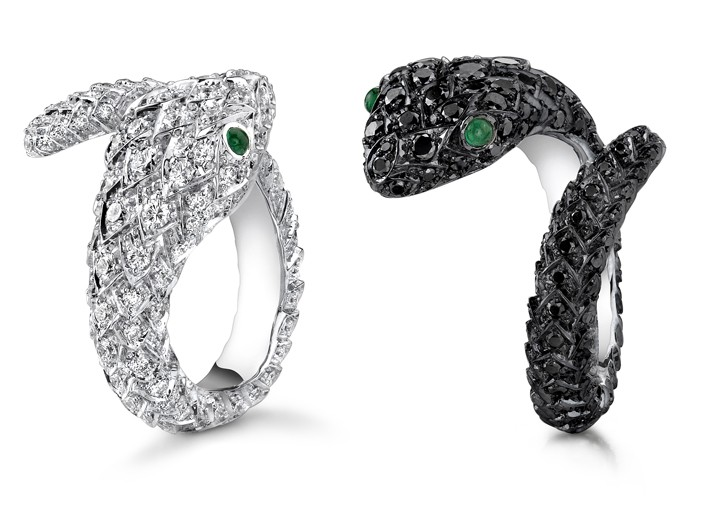 Brad and Angelina Design Serpent-Themed Baby Gifts for Asprey