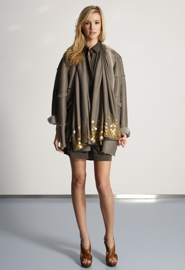 Diane von Furstenberg Pairs Cocktail Dresses with Hunting Jackets for Pre-Fall 2010